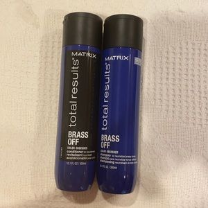 Matrix Total Results Brass off Shampoo Conditioner